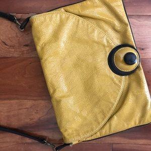Mustard yellow purse